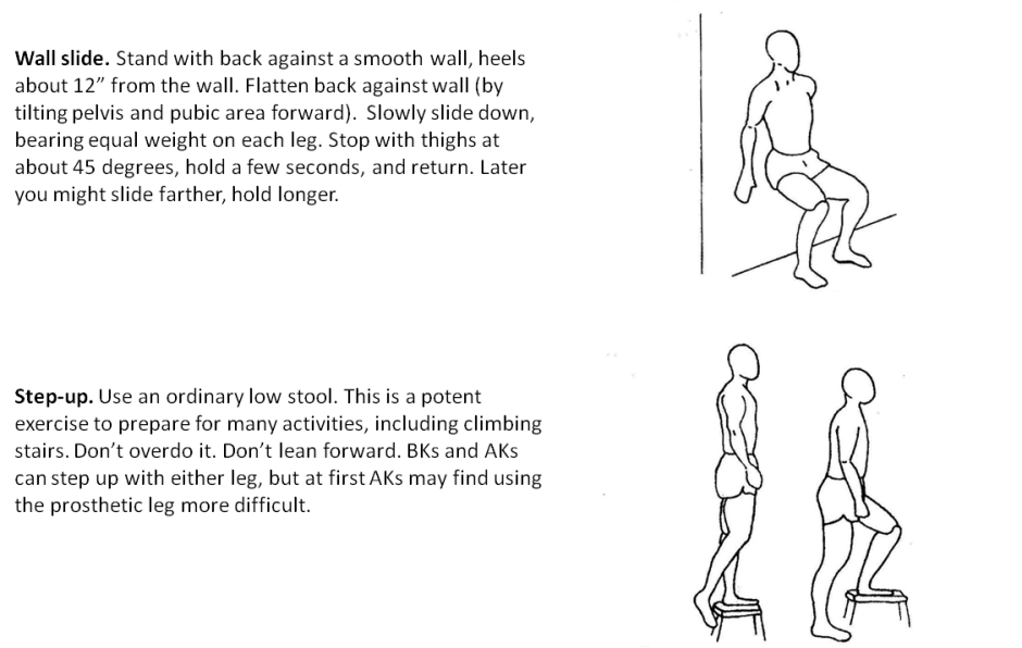Exercises Lower Extremity Amputee